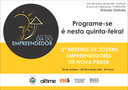 Câmara apoia o 2º meeting de jovens empreendedores de Nova Prata