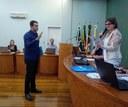 Marcos Polesello assume cadeira na Câmara