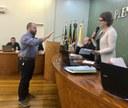 Suplente Luciano Toscan assume cadeira no Legislativo