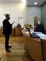 Suplente Marcos Polesello assume cadeira no Legislativo
