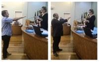 Suplentes assumem o Legislativo